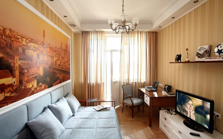 <p>Автор проекта: Александр Скирда</p> <p>Лучший способ украсить комнату для мальчика - повесить фотографии. </p>