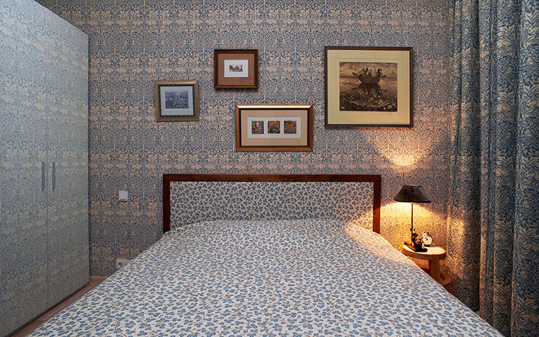 интерьер спальни - фото № 43476