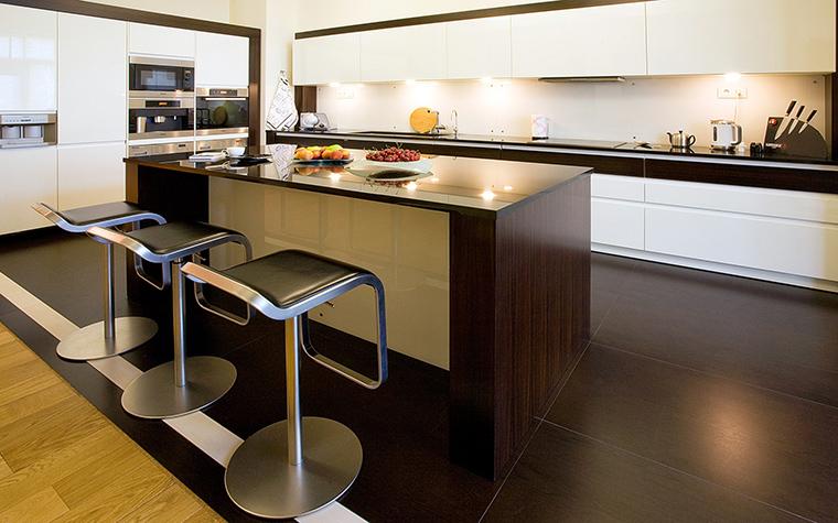 Фото № 43595 кухня  Квартира