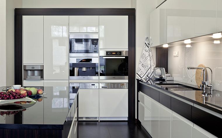 Фото № 43596 кухня  Квартира