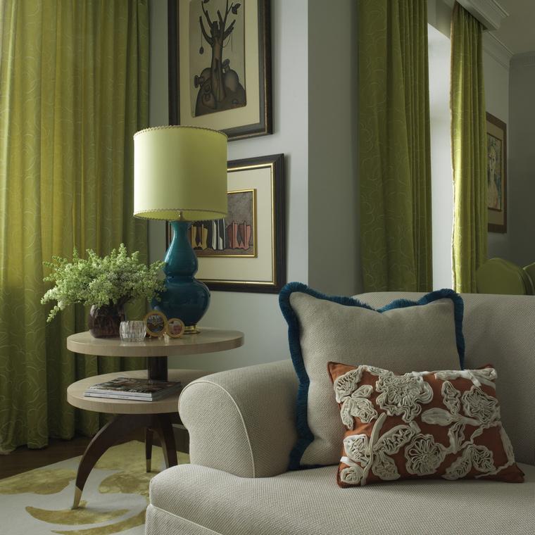 интерьер гостиной - фото № 43657