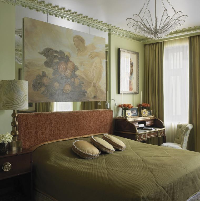 Фото № 43662 спальня  Квартира