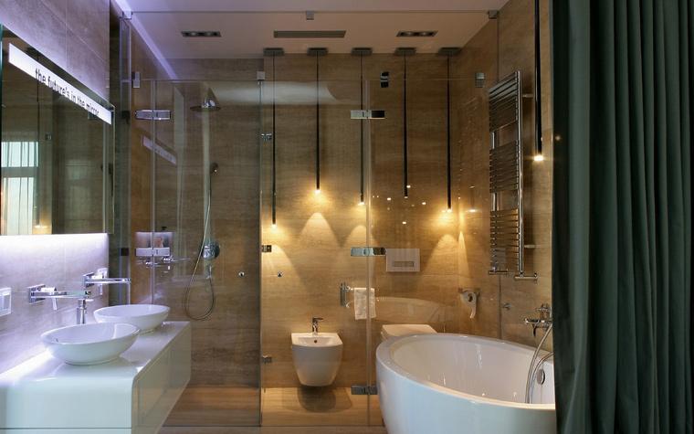 Квартира. ванная из проекта , фото №43728