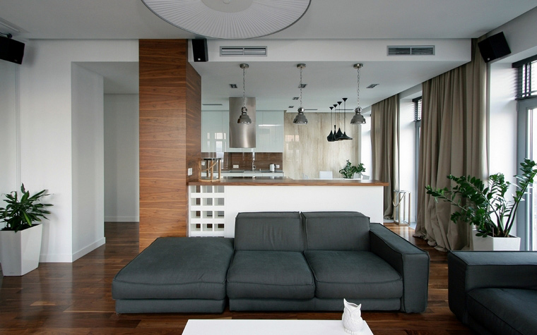 Квартира. гостиная из проекта , фото №43713