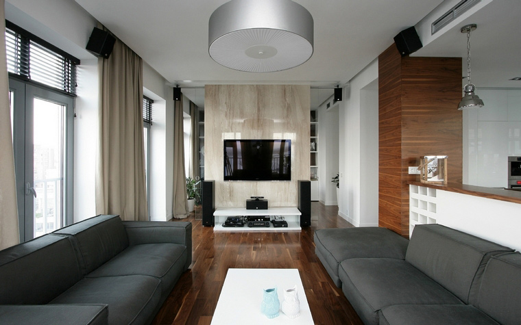 Фото № 43715 гостиная  Квартира