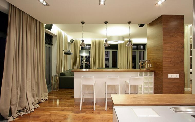 Фото № 43716 гостиная  Квартира