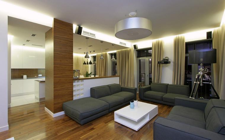 Квартира. гостиная из проекта , фото №43712