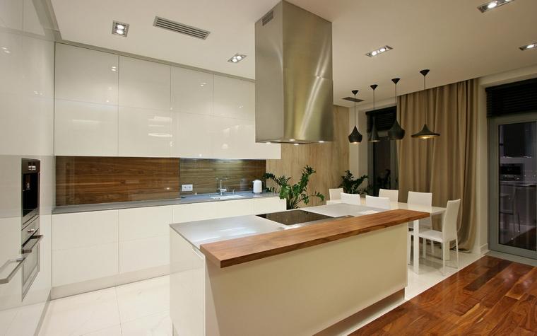 Фото № 43717 кухня  Квартира