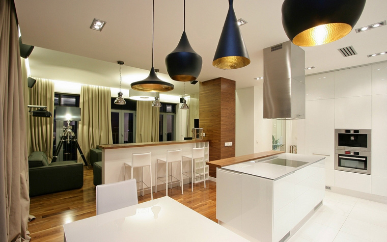 Фото № 43718 кухня  Квартира