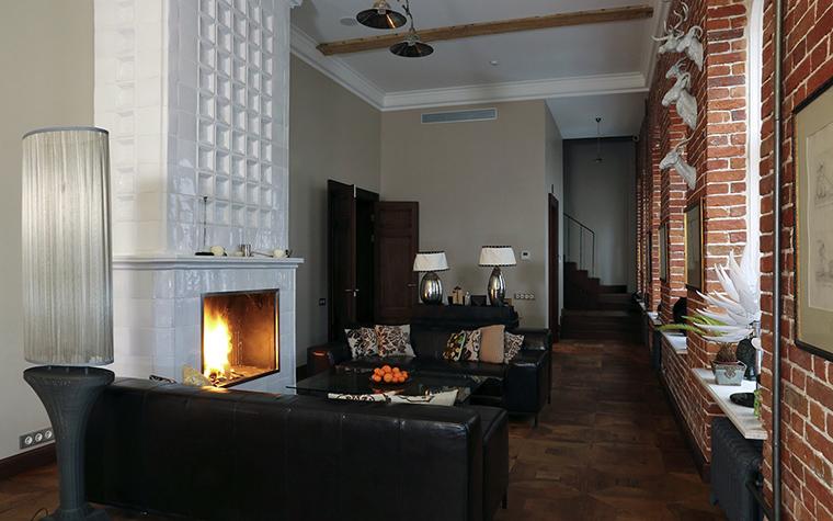 Квартира. гостиная из проекта , фото №43702