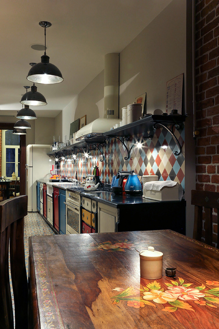 интерьер кухни - фото № 43707