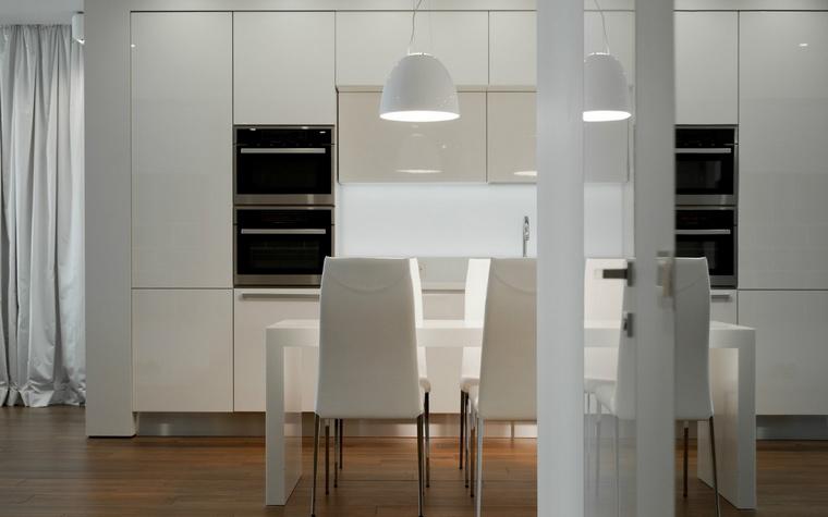 Фото № 43795 кухня  Квартира
