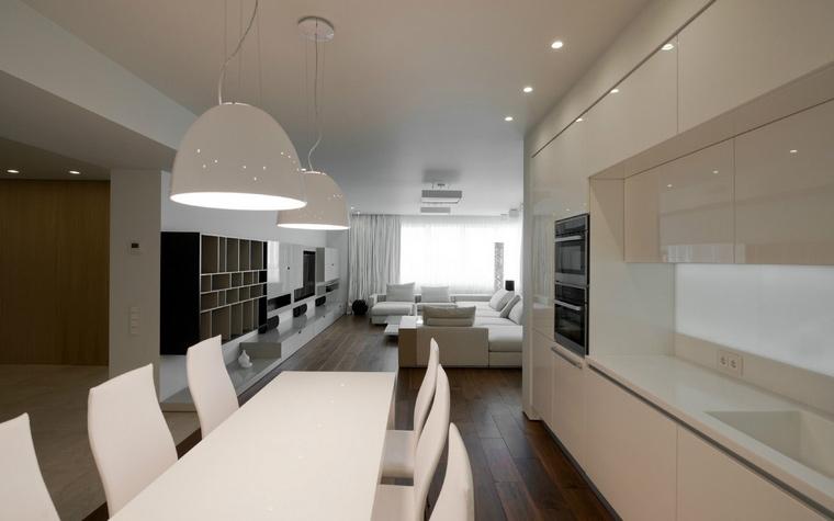 Фото № 43794 кухня  Квартира