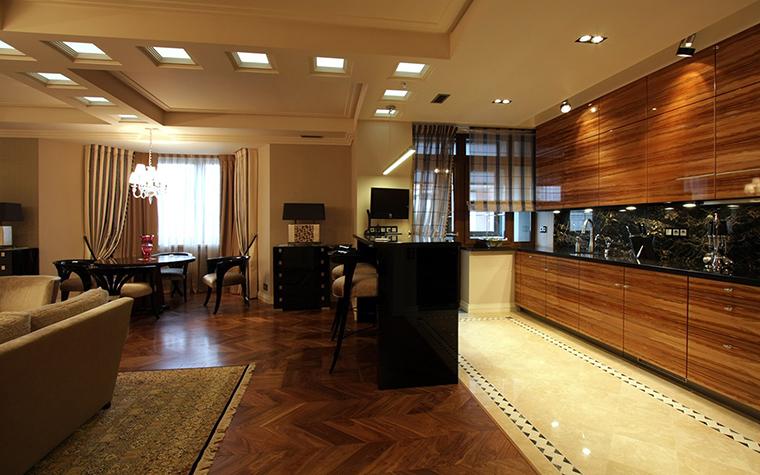Квартира. кухня из проекта , фото №43786