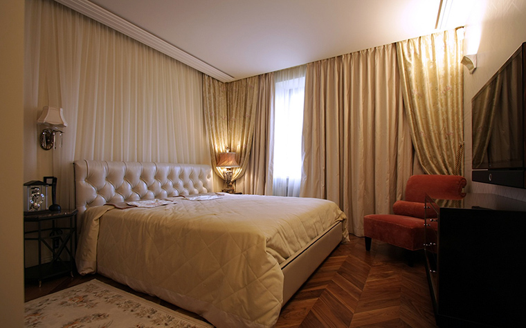 Квартира. спальня из проекта , фото №43787