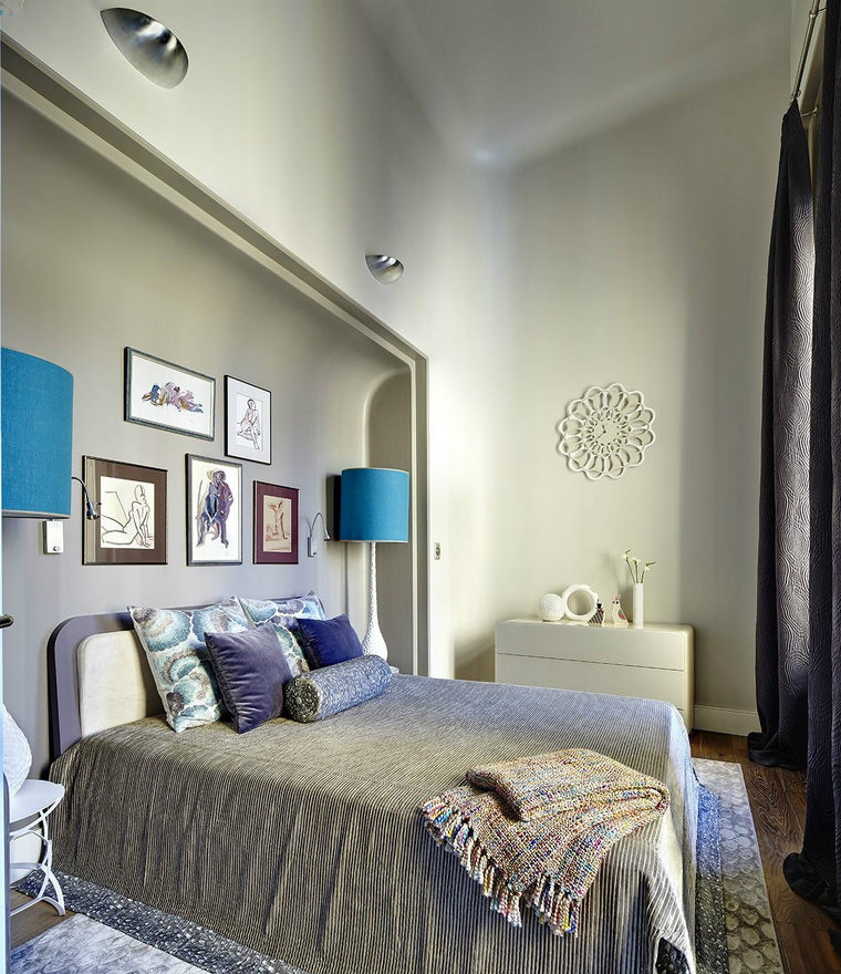 Фото № 43847 спальня  Квартира