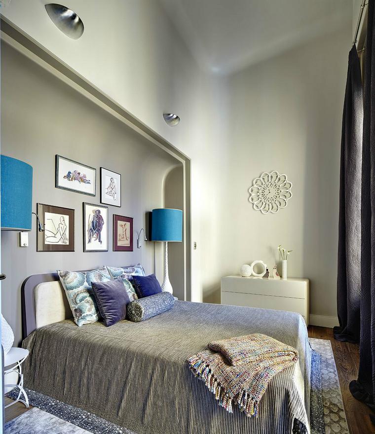 интерьер спальни - фото № 43847