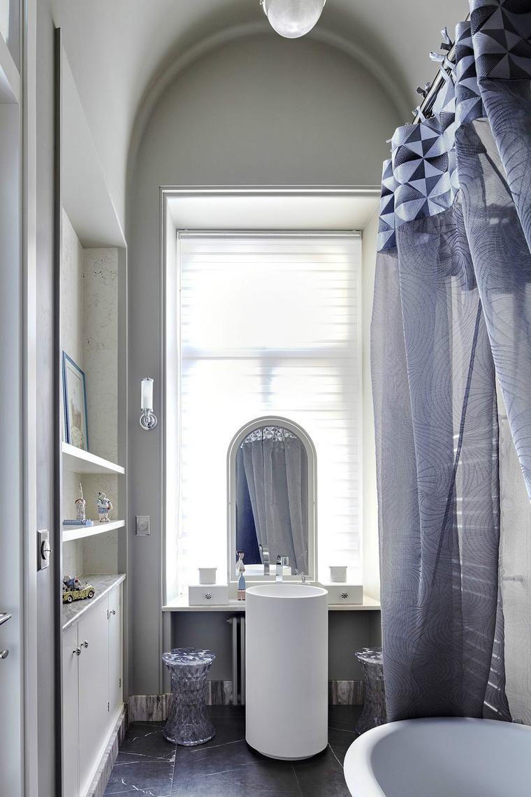 Фото № 43856 ванная  Квартира