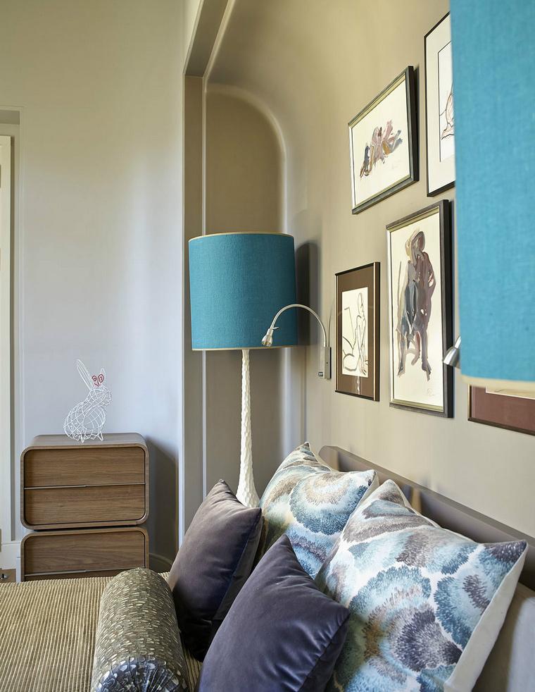 интерьер спальни - фото № 43850