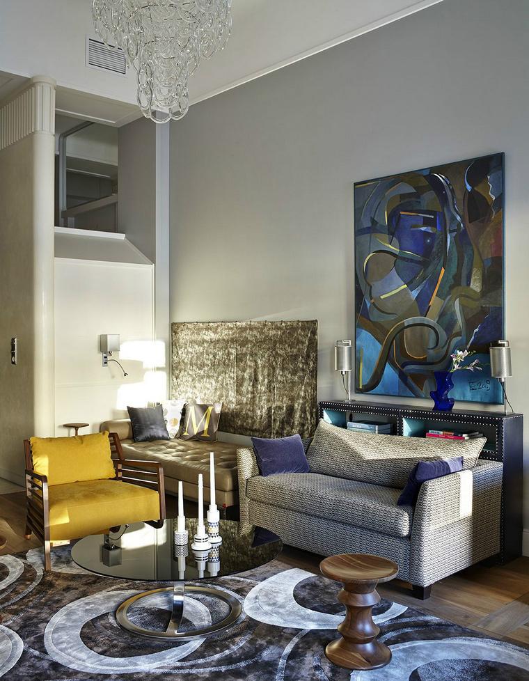 Фото № 43838 гостиная  Квартира