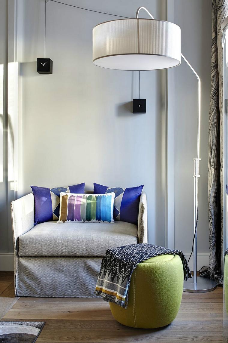 Фото № 43840 гостиная  Квартира