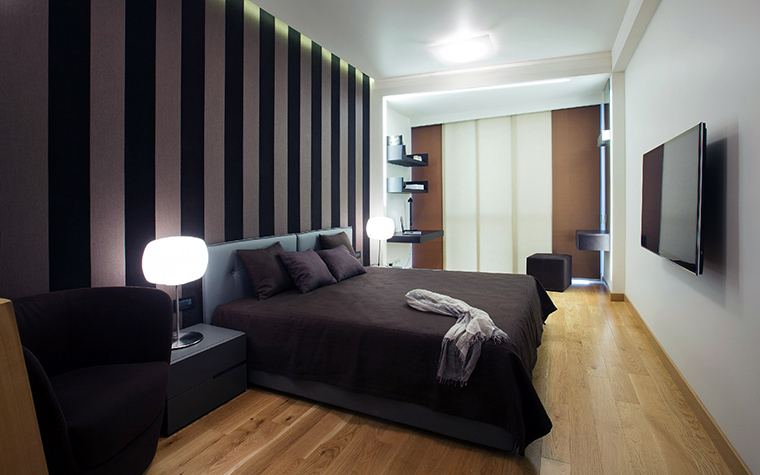 интерьер спальни - фото № 43876