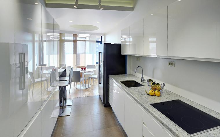 Фото № 43877 кухня  Квартира