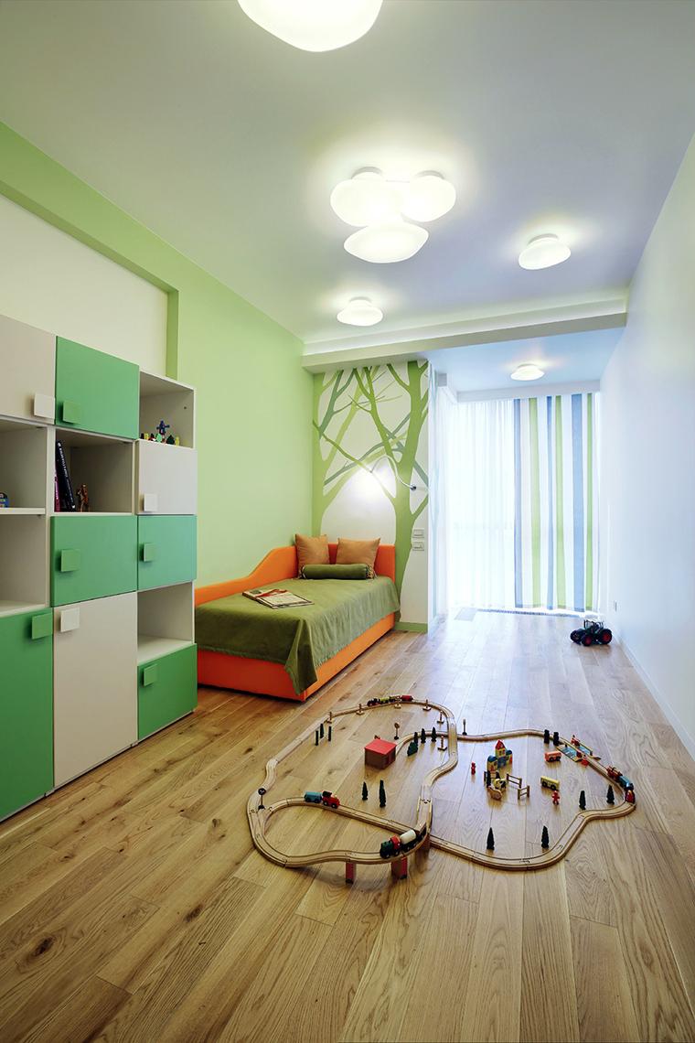 Фото № 43880 детская  Квартира