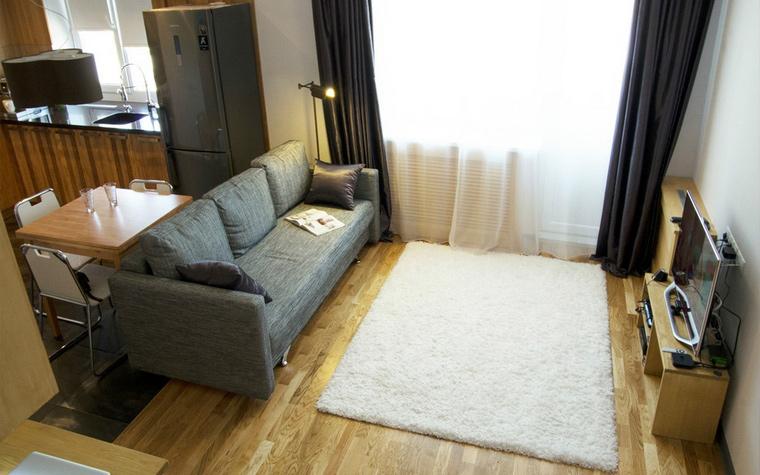 Фото № 43924 гостиная  Квартира