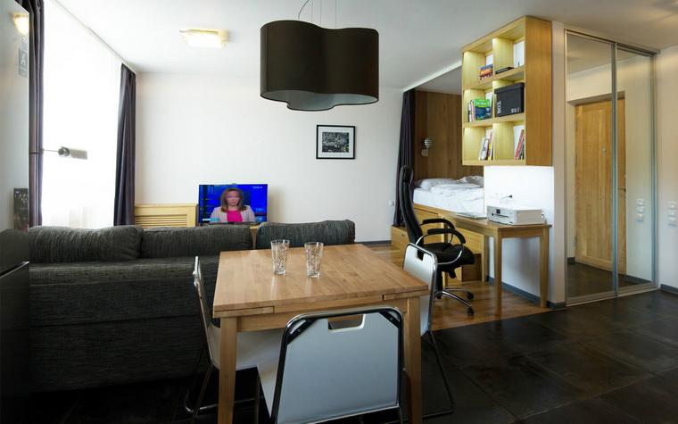 Фото № 43925 гостиная  Квартира