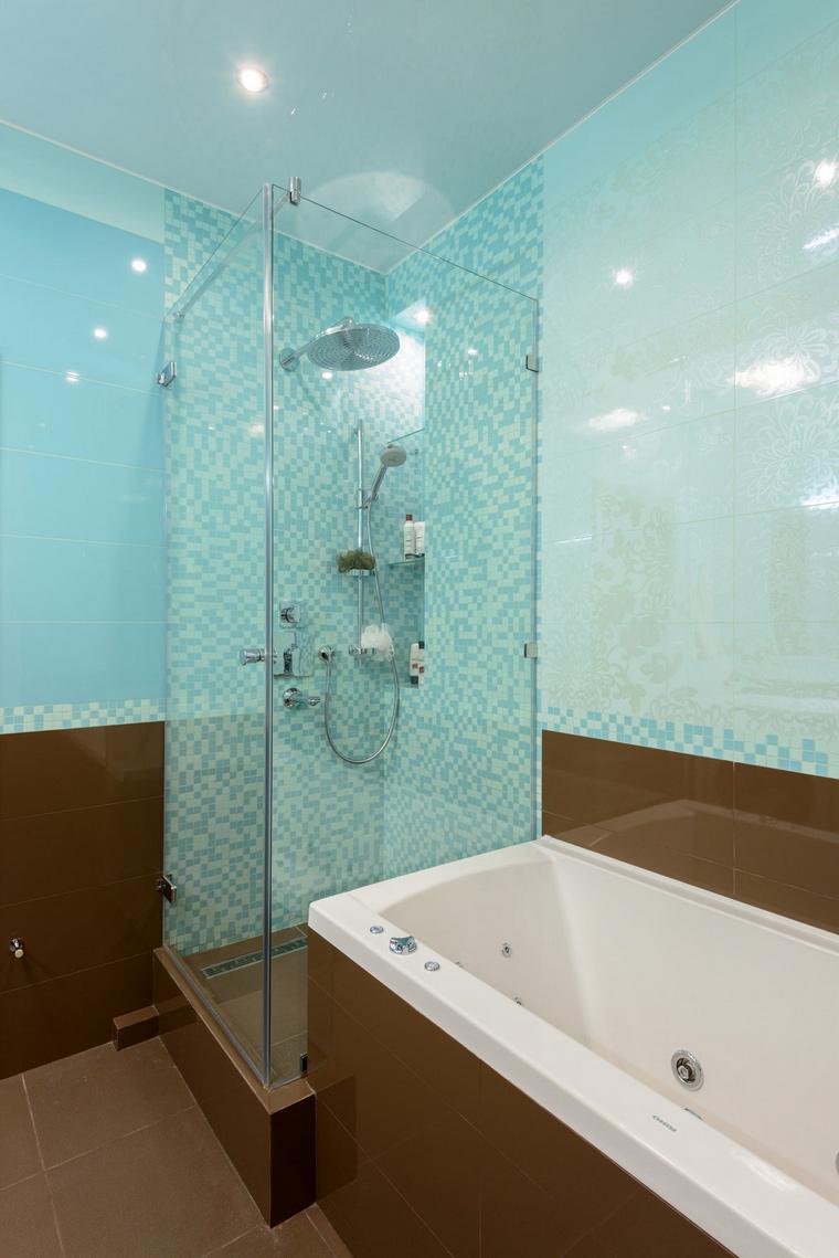 Квартира. ванная из проекта , фото №44050