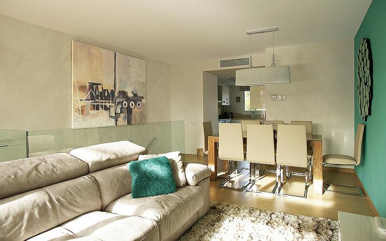 Квартира. гостиная из проекта , фото №44075
