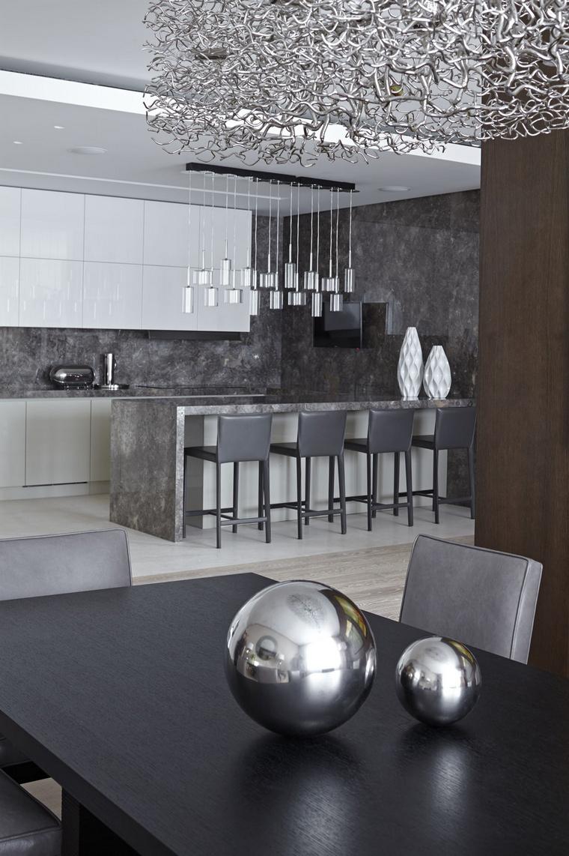 Фото № 44157 кухня  Квартира
