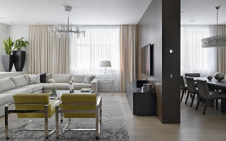 Фото № 44151 гостиная  Квартира