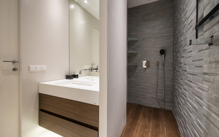 Фото № 44234 ванная  Квартира