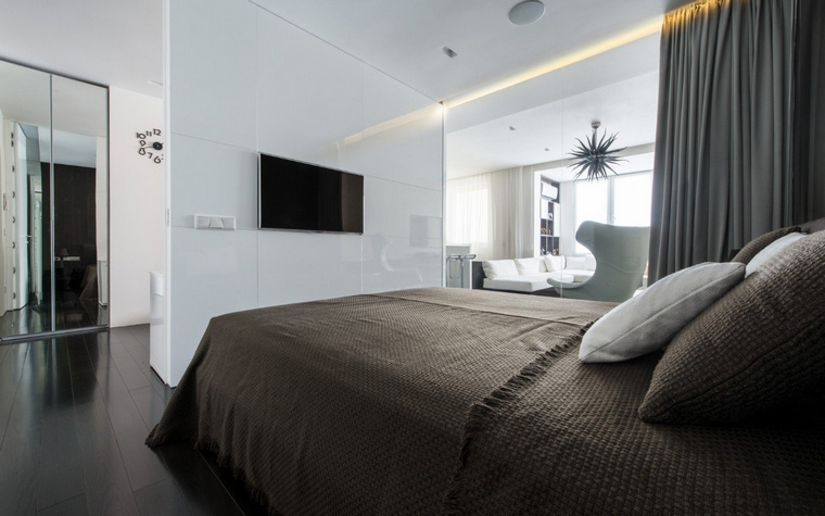 Фото № 44233 спальня  Квартира