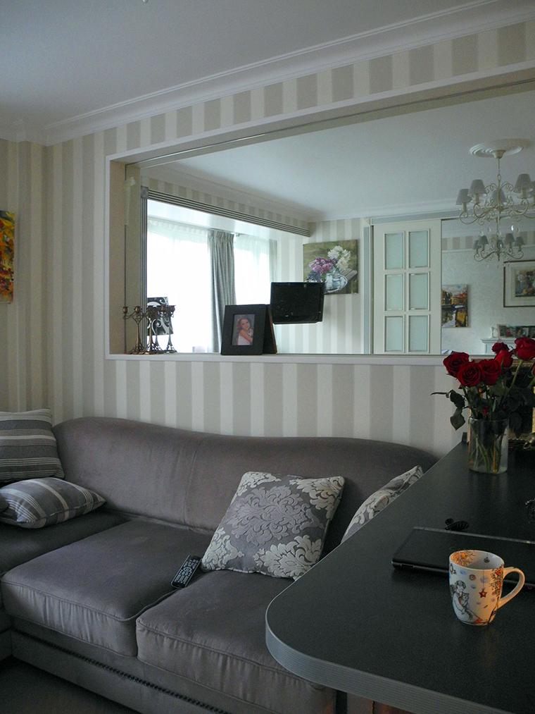 Квартира. гостиная из проекта , фото №44273