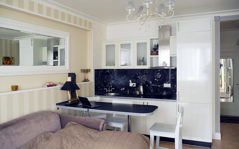 Квартира. кухня из проекта , фото №44271