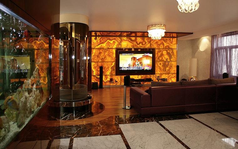 интерьер гостиной - фото № 44284