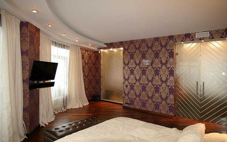 интерьер спальни - фото № 44290