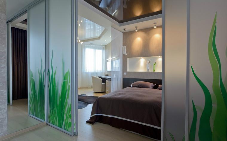 интерьер спальни - фото № 44398