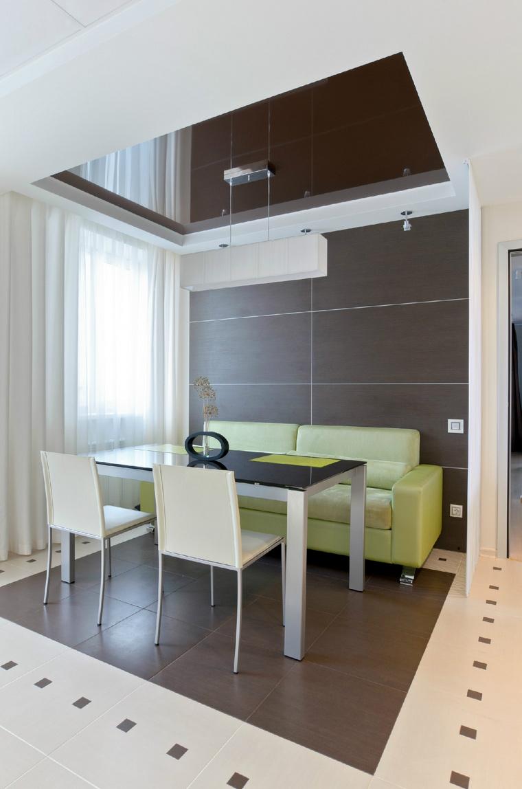 Квартира. столовая из проекта , фото №44394