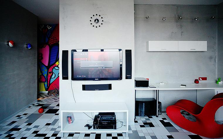 Квартира. гостиная из проекта Квартира на Молодогвардейской, Москва, фото №44504
