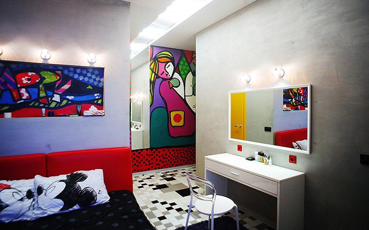 Квартира. спальня из проекта Квартира на Молодогвардейской, Москва, фото №44502