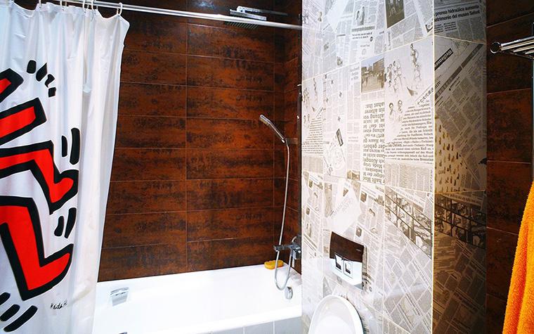 Квартира. ванная из проекта Квартира на Молодогвардейской, Москва, фото №44500