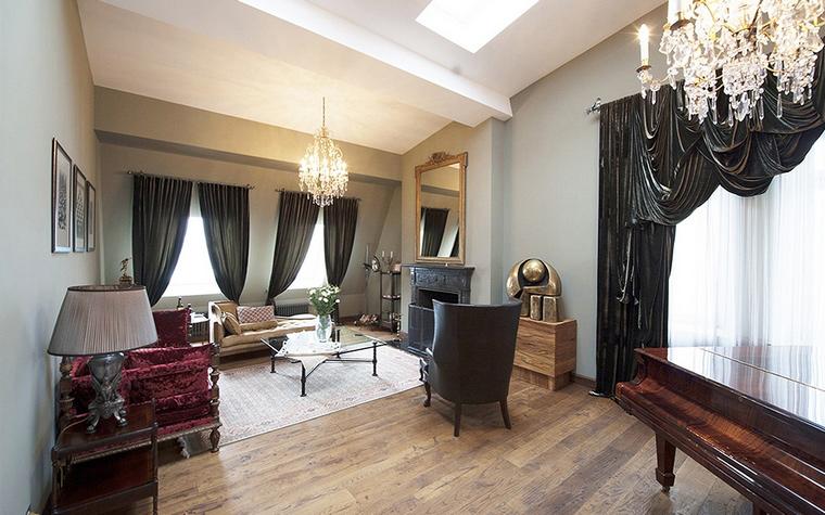 Фото № 44535 гостиная  Квартира