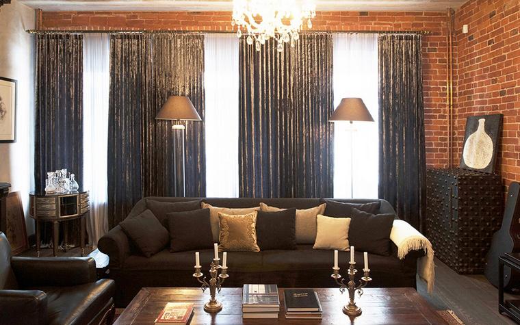 Фото № 44540 гостиная  Квартира