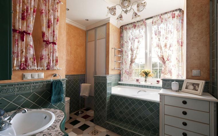 интерьер ванной - фото № 44584