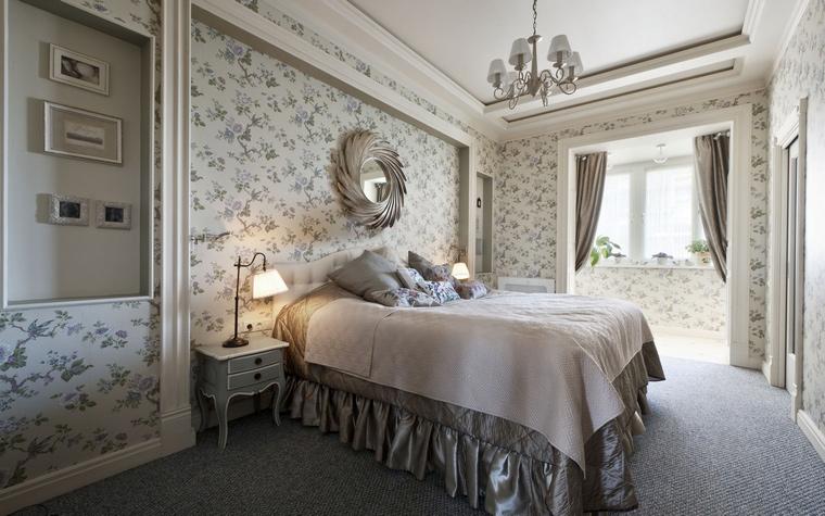 интерьер спальни - фото № 44582