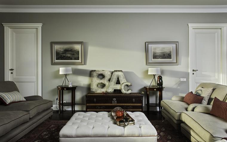 Фото № 44622 гостиная  Квартира